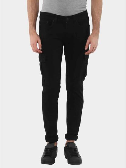 Joskargo Black Straight Jeans