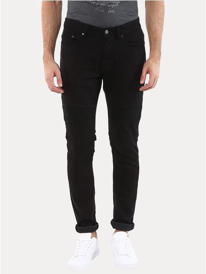 Joker Black Straight Jeans