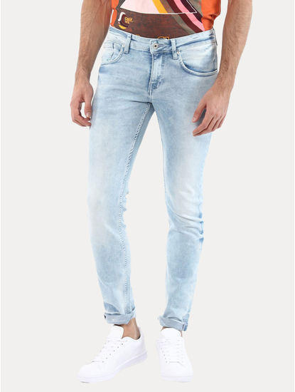 Jobright Ice Blue Straight Jeans