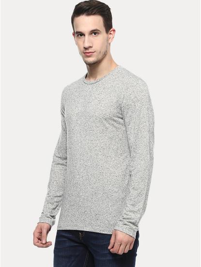 Beige Melange T-Shirt