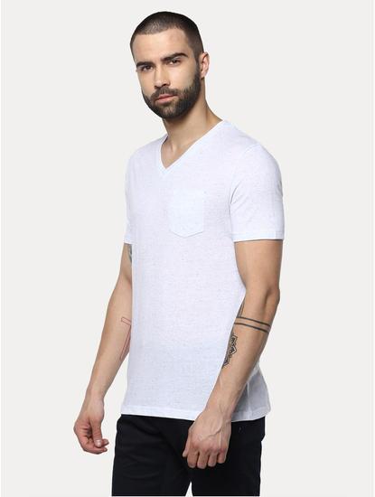 White Melange T-Shirt