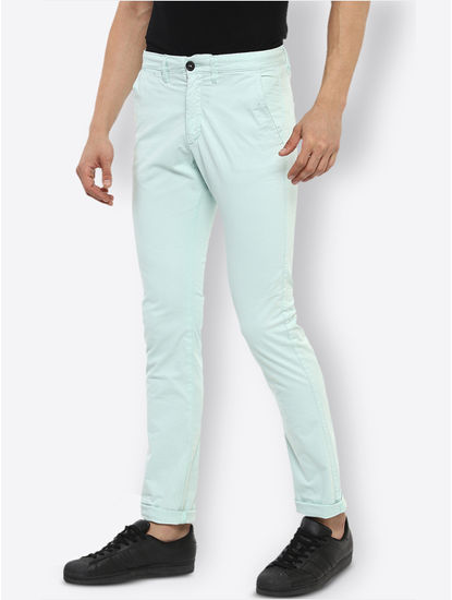 Mint Slim Fit Chinos