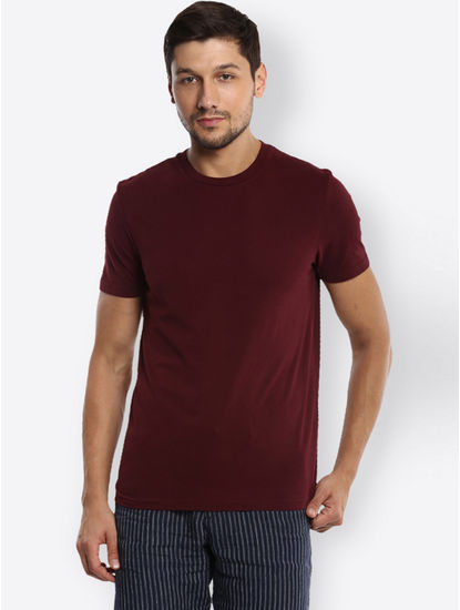 Wine Solid T-Shirt