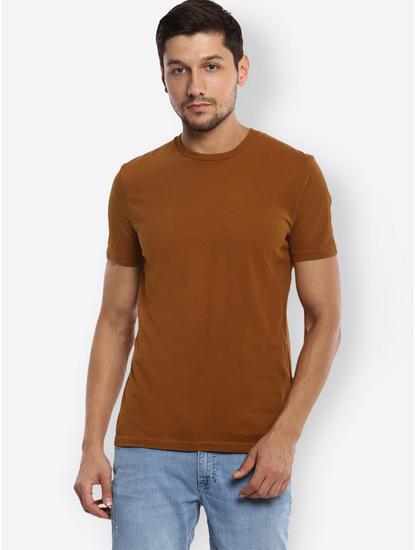 Cognac Melange T-Shirt