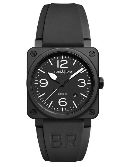 AVIATION BR 03-92 BLACK MATTE CERAMIC