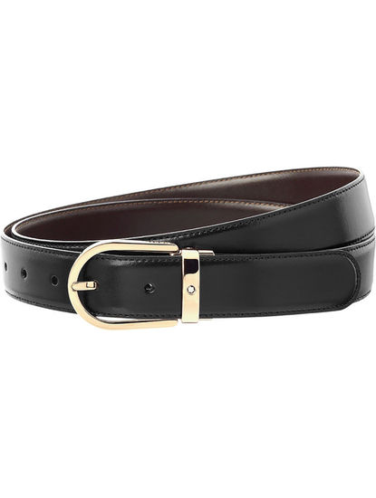 Classic Line 30 mmShiny Light Gold Coated Pin Buckle