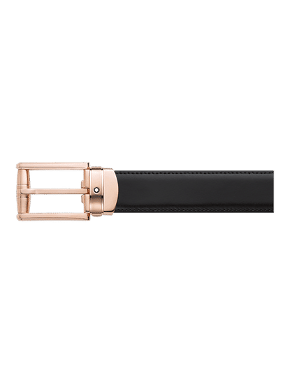 Classic Line 30 mmPVD red gold coated Pin Buckle