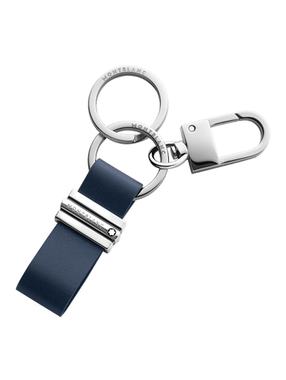 Meisterstuck Key Fob Loop with Hook Navy Blue