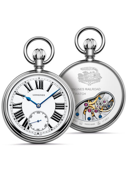 Heritage - RailRoad Pocket Watch