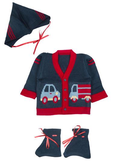 Mee Mee Baby Sweater Sets (Navy Blue)