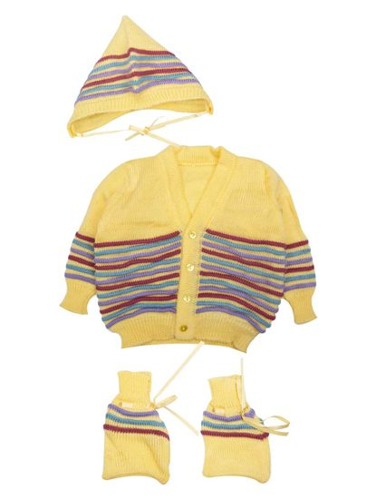 Mee Mee Baby Sweater Sets (Yellow)