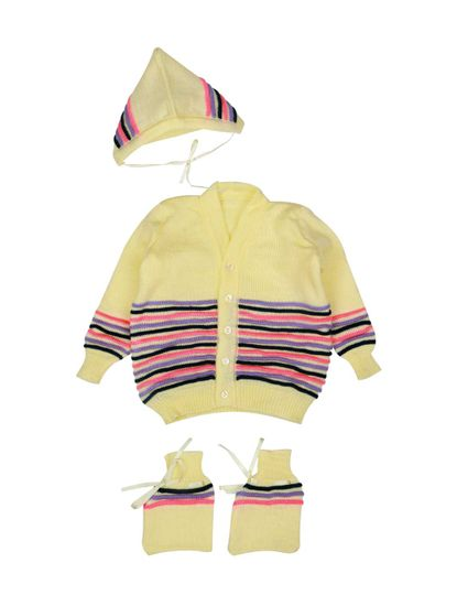 Mee Mee Baby Sweater Sets (Cream)