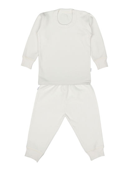 Mee Mee Full Sleeve Thermal Vest With Full Length Bottom