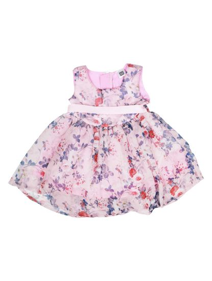 Mee Mee Baby Girls Party Frocks (Pink)
