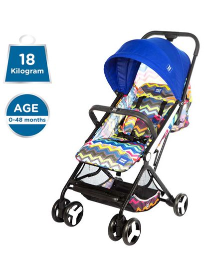 Mee Mee Premium Portable Baby Stroller Pram with Compact Tri-Folding