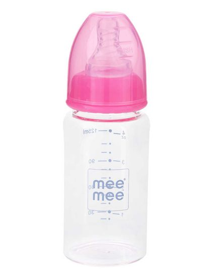 Mee Mee Premium Glass Feeding Bottle