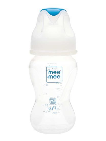 Mee Mee Milk Safe Wide Mouth Feeding Bottle (250ml)
