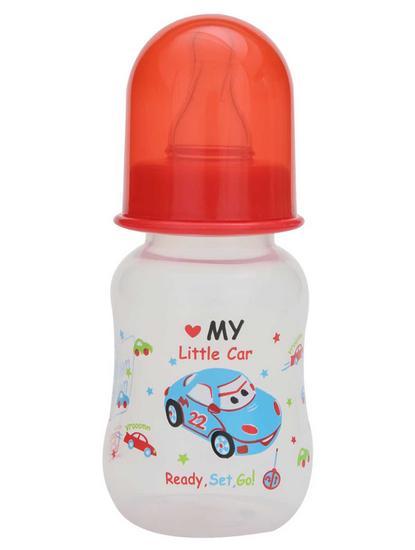 Mee Mee 125ml Premium Feeding Bottle (Red)