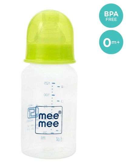 Mee Mee Easy Flo Premium Baby Feeding Bottle - 125ml