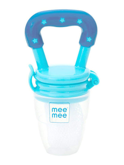 Mee Mee Fruit and Food Nibbler (Dark Blue Light Blue)