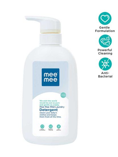 Mee Mee Mild Baby Liquid Laundry Detergent Bottle (500ml)