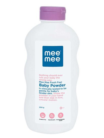 Mee Mee Fresh Feel Baby Powder, 200g