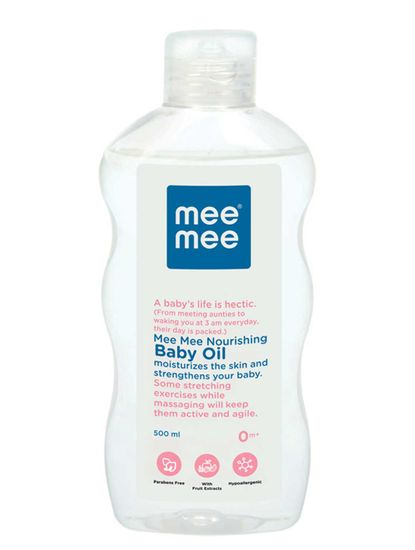 Mee Mee Nourishing Baby Oil - 500 ml