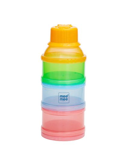 Mee Mee Multipurpose Milk & Food Storage Container (Multicolor)