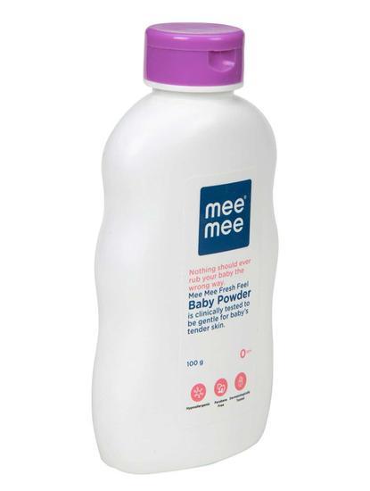 Mee Mee Fresh Feel Baby Powder, 100g