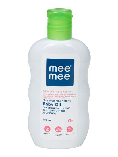 Mee Mee Nourishing Baby Oil - 100 ml
