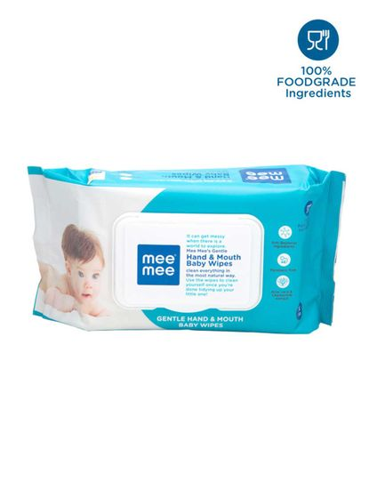 Mee Mee Gentle Hand and Mouth Baby Wipes (72 pcs)