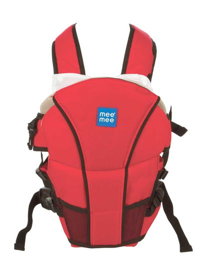 Mee Mee 4 in 1 Cozy Baby Carrier (Red)