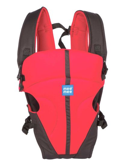 Mee Mee Lightweight Breathable Baby Carrier (Red)