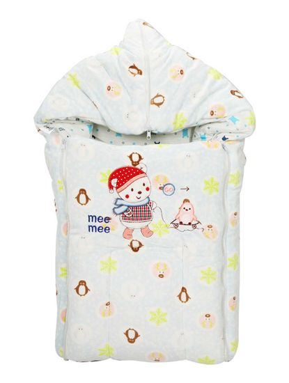 Mee Mee Baby 3-in-1 Multi Usage Bed Cum Sleeping Bag Carry Nest – (Color)