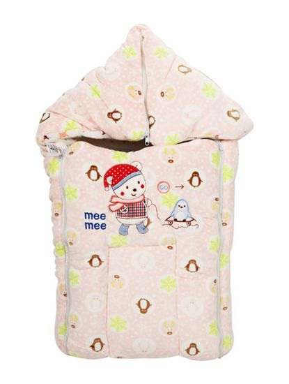 Mee Mee Baby 3-in-1 Multi Usage Bed Cum Sleeping Bag Carry Nest – (Color)
