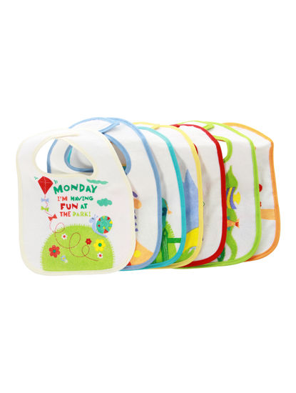 Mee Mee Absorbent Weaning Bib (Pack Of 7)