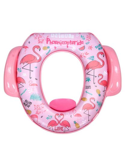 Mee Mee Cushioned Non-Slip Potty Seat with Easy Grip Handles & Pee Shield