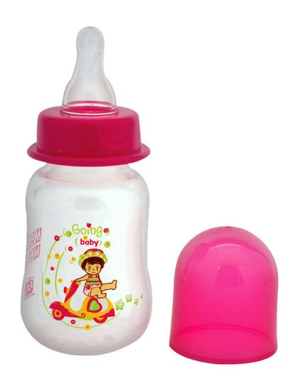 Mee Mee 125ml Premium Feeding Bottle (Pink)
