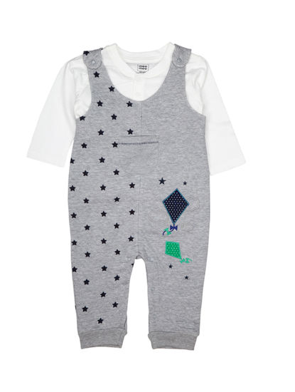MEE MEE FULL SLEEVE BOYS DUNGAREE SET