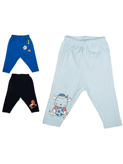 Mee Mee Boys Leggings Pack Of 3