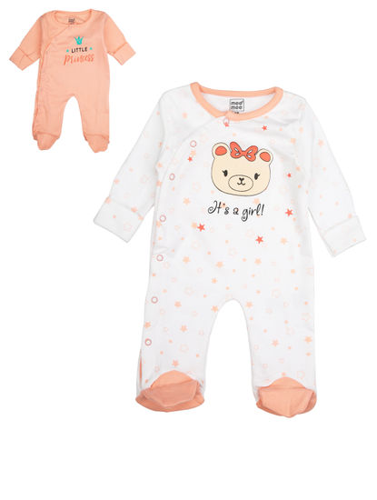 Mee Mee Girls Romper Pack Of 2