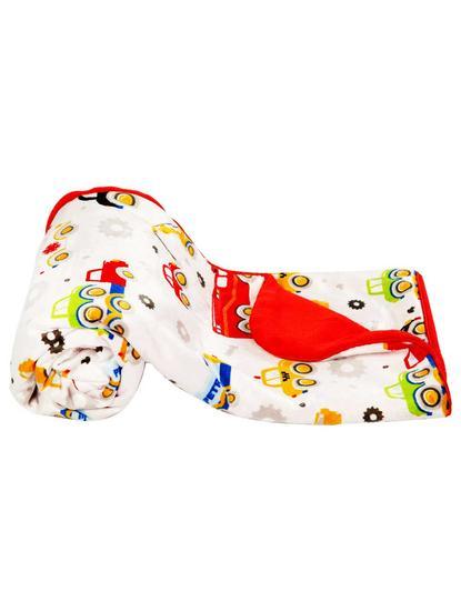 Mee Mee Multipurpose Soft Baby Blanket, Red