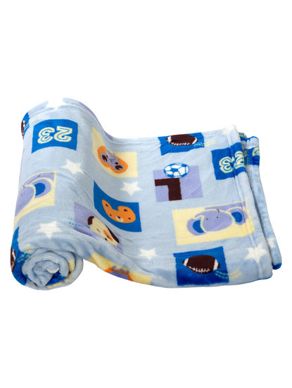 Mee Mee Soft Baby Blanket (Snuggly Comfort) (Dark Blue)