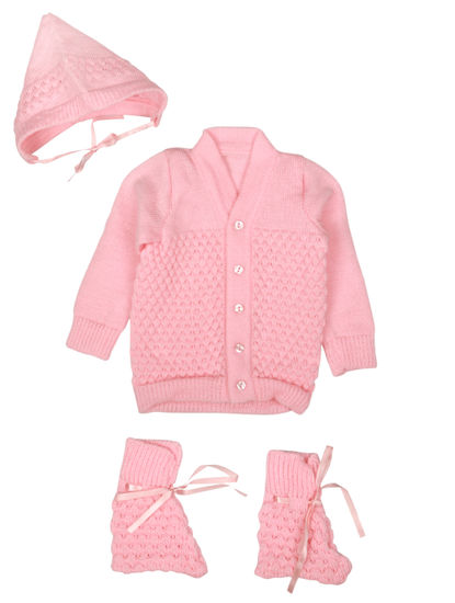 Mee Mee Baby Sweater Sets (Pink)