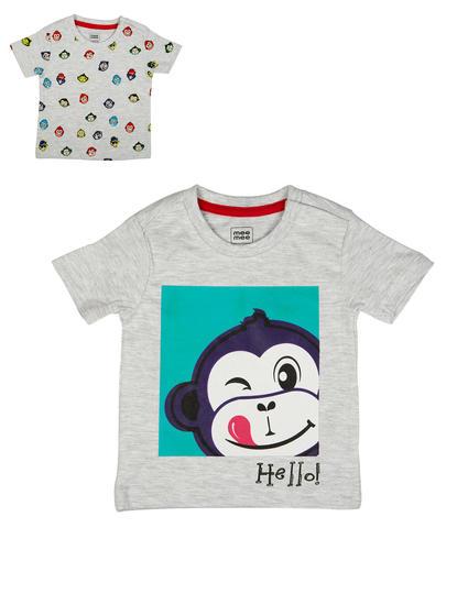 Mee Mee Kids Boys T-Shirt Pack Of 2