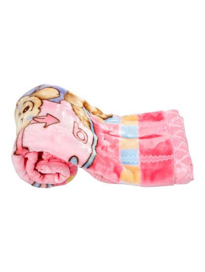 Mee Mee Soft Baby Blanket, Bunny, Regular, Light Pink