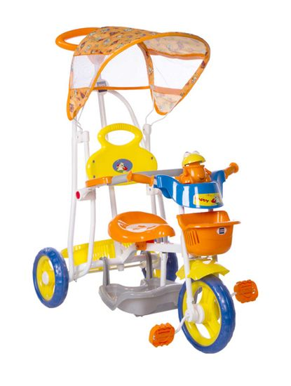 Mee Mee Baby Tricycle with Rocker Function (2 in 1) & Easy-to-Push Handle with Canopy
