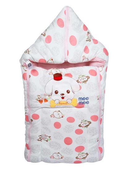Mee Mee Baby 3-in-1 Multi Usage Bed Cum Sleeping Bag Carry Nest – (Pink)
