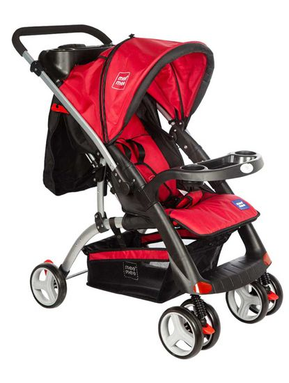 Mee Mee Advanced Baby Pram with Shock Absorber Wheels