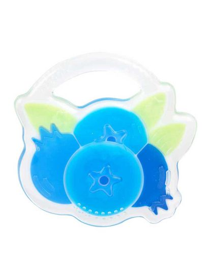 Mee Mee Multi-Textured Soft Silicone Teether (Blue)